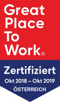 GREAT PLACE TO WORK Zertifiziert